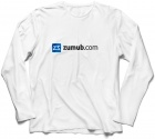 Long Sleeve White T-Shirt ZUMUB